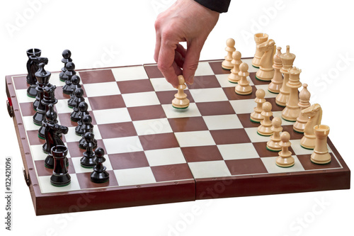 Poster First move the white pawn