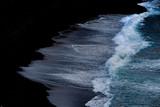 vague océan mer eau côte sable noir écume nature fore mousse