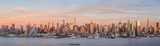 New York City Manhattan midtown skyline at dusk