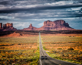 Bikers at Monument Valley