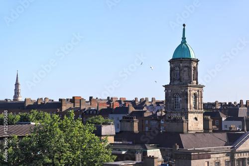Poster Dublin Rooftops