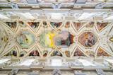 Interior of the Church of the Gesu in Palermo, Sicily, Italy.