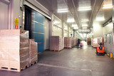 Large cold warehouse - 122562445