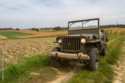 Poster Willys Jeep