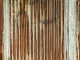Rusty Galvanized Steel Roof Plate - 122584891
