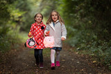 Fototapety Kinder mit Laterne