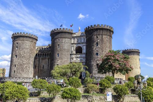 Foto op Canvas Napels Maschio Angioino, Naples