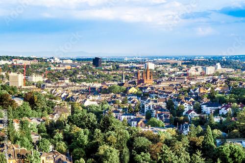 Foto op Plexiglas Kiev cityscape of Wiesbaden in Germany
