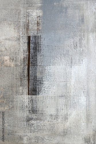 Neutral Abstract Art Painting - 122683488