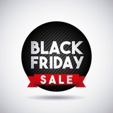 black friday sale poster vector illustration design