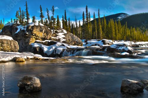 Foto op Canvas Beautiful Elbow Falls