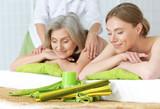 Beautiful Women Getting Spa Treatment. - 122726806