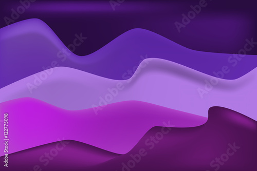 Plexiglas Violet Violet dune and sand background