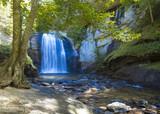 Fototapety Looking glass falls in North Carolina