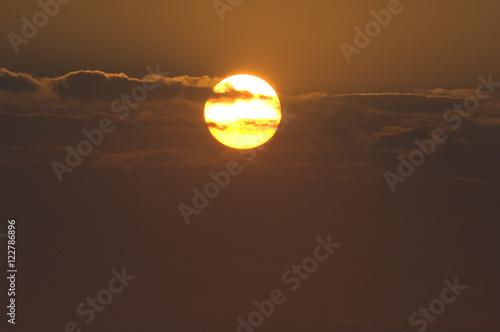 Billede Sonnenuntergang, Abendstimmung, Gardasee
