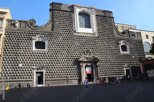 Papiers peints Naples church in Naples, Campania, Italy