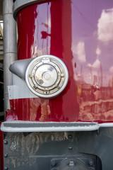 Détail d'ancienne locomotive