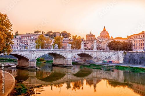 Poster Ewige Stadt Rom, Italien, Panorama