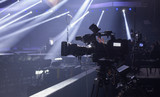 tv camera in a concert hall - 122841611
