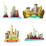 New York Downtown 2x2 Design Compositions - 122861611