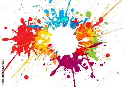 wektor kolorowy wzór tła. projekt ilustracji wektorowych