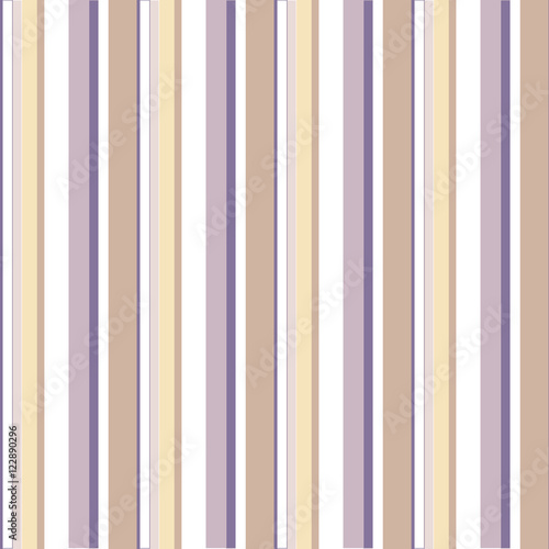 Naklejka dekoracyjna Abstract vector striped seamless pattern with colored stripes.