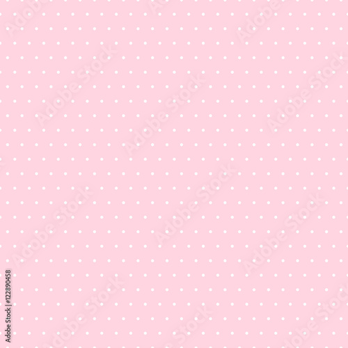Abstract vector dotted seamless pattern. - 122890458
