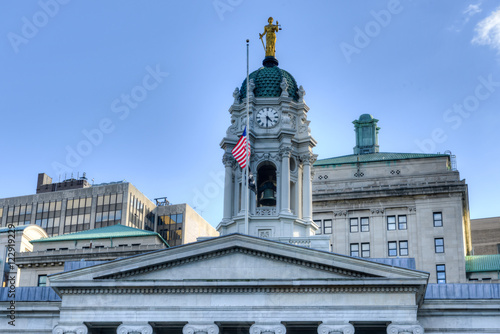 Foto op Aluminium New York Brooklyn Borough Hall