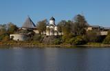 Крепость Старая Ладога. Церковь Святого Георгия. Россия