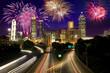Fireworks over Atlanta