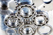 titanium ball-bearings used in the aerospace industry