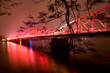 Trang Tien Bridge (over Huong river) is the most beautiful bridge in Hue in Vietnam , Unesco World Heritage Site