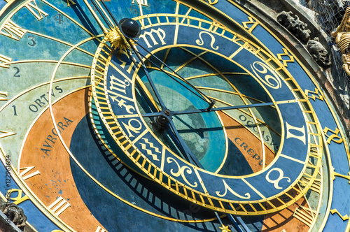 "Poster Astronomical Clock in Prague ""Orloj"""