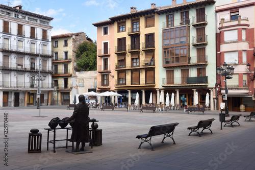 Main square of Calatayud. Zaragoza province, Aragon