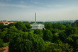 The White House, Washington Monument & Jefferson Memorial from the Hay Adams Hotel roof.