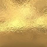Fototapety Gold foil background, golden metallic texture
