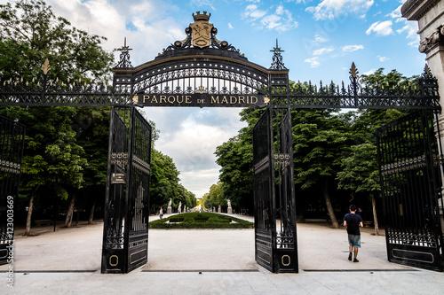 Parque del Retiro in Madrid, Spanien