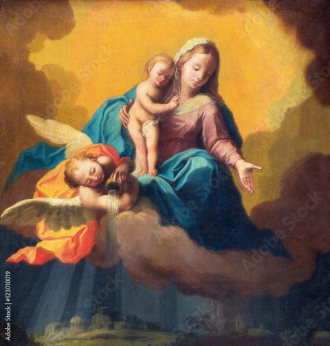 brescia-wlochy-maj-22-2016-obraz-madonna-jako-opiekun-w-burzy-nad-brescia-w-koscielnym-chiesa-di-santa-maria-dei-miracoli-niewiadomym-artysta-19-cent