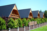 The wooden holiday houses - 123029014
