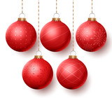 """Christmas balls vector set with different designs hanging isolated in white background. Vector illustration. 123088415,Happy new year 2017 Door with cityscape skyline on cloudy day.Vector EPS 10 Illustration."""""""