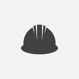 hardhat vector icon - 123092658