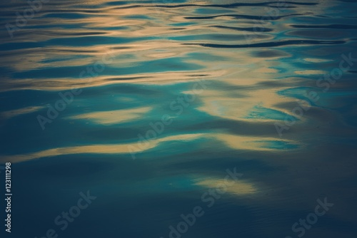 Calm Bay Water Background
