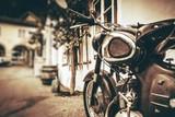 Vintage Motorcycle Closeup - 123113025
