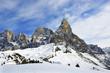 Mount Cimon della Pala, mountain group Pale di San Martino, Dolomites mountains - Italy, Europe, UNESCO World Heritage Site