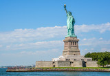 Statue of Liberty in a sunny day, New York - 123151064