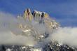 Mountain Campanili di Val di Roda, mountain group Pale di San Martino, Dolomite mountains - Italy, Europe, UNESCO World Heritage Site