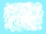 Fundo nuvem branca em céu azul