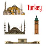 Turkey historic architecture buildings