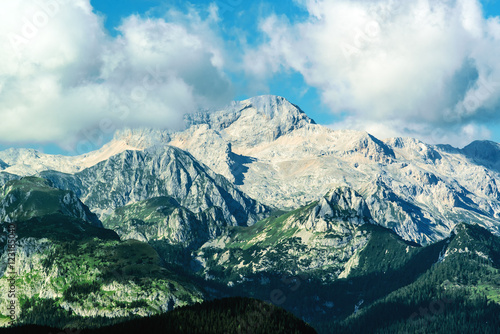 Triglav mountain peak, Slovenia - 123185040