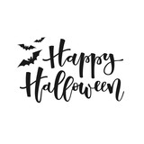 Happy halloween greeting - 123190849